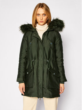 Guess Guess Parka Trudy W0BL63 W94M0 Verde Regular Fit