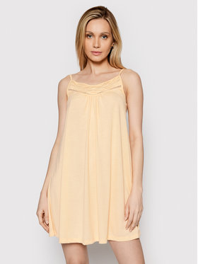 Roxy Roxy Φόρεμα καλοκαιρινό Rare Feeling ERJKD03295 Πορτοκαλί Regular Fit