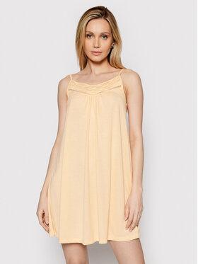Roxy Roxy Sukienka letnia Rare Feeling ERJKD03295 Pomarańczowy Regular Fit