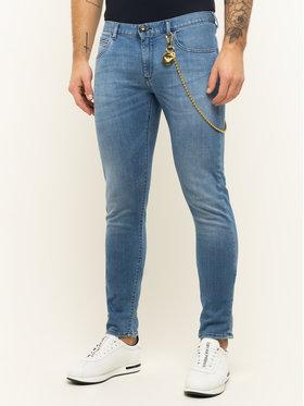 Emporio Armani Emporio Armani Extra Slim Fit džínsy 3H1J10 1D9YZ 0943 Modrá Extra Slim Fit