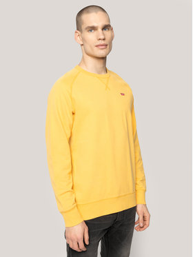 Levi's® Levi's Džemperis RedTab Original Housemark Icon Crew 56176-0016 Geltona Regular Fit