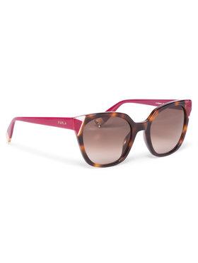 Furla Furla Sonnenbrillen Sunglasses SFU401 401FFS5-RCR000-TJA00-4-401-20-CN-D Braun