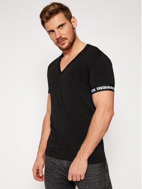 Dsquared2 Underwear Dsquared2 Underwear T-Shirt D9M453190 Μαύρο Regular Fit