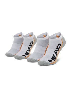 Head Head Комплект 2 чифта къси чорапи унисекс 791018001 Бял