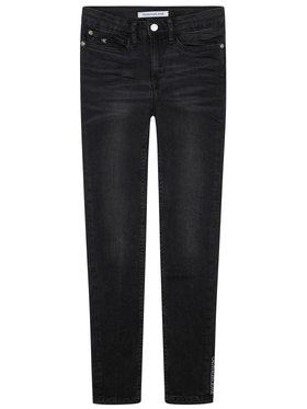 Calvin Klein Jeans Calvin Klein Jeans Дънки Chalk IG0IG00553 Черен Skinny Fit