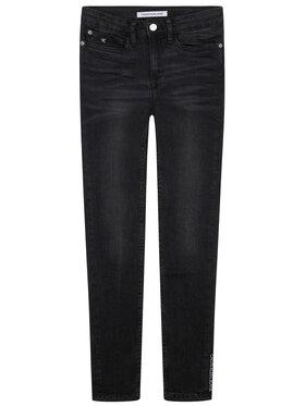 Calvin Klein Jeans Calvin Klein Jeans Jeansy Chalk IG0IG00553 Czarny Skinny Fit