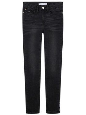 Calvin Klein Jeans Calvin Klein Jeans Τζιν Chalk IG0IG00553 Μαύρο Skinny Fit