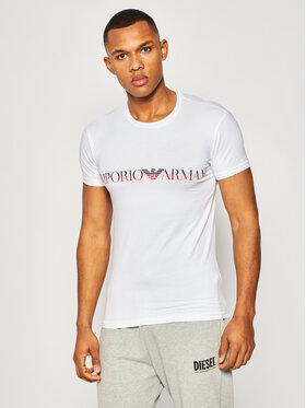 Emporio Armani Emporio Armani T-Shirt 111035 0P516 00010 Weiß Regular Fit