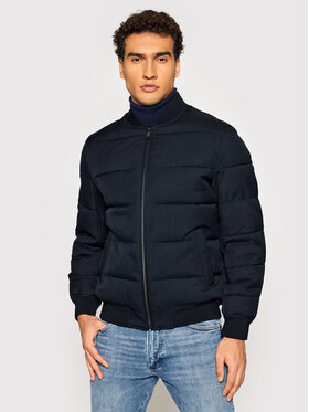 Roy Robson Roy Robson Bomber 5918-96 Blu scuro Regular Fit