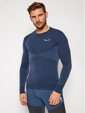 Salewa Salewa Techniniai marškinėliai Zebru Responsive 27957 Tamsiai mėlyna Athletic Fit