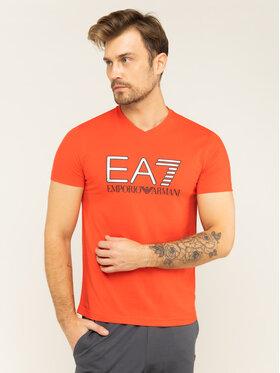 EA7 Emporio Armani EA7 Emporio Armani T-shirt 3HPT06 PJ02Z 1453 Rosso Regular Fit