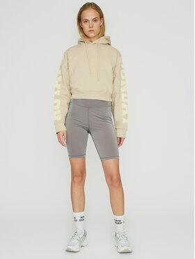 ROTATE ROTATE Sweatshirt Viola RT480 Beige Loose Fit