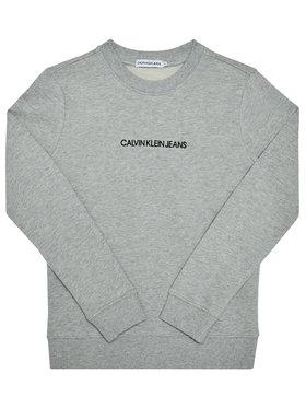 Calvin Klein Jeans Calvin Klein Jeans Bluză Embroidered Logo IB0IB00547 Gri Regular Fit