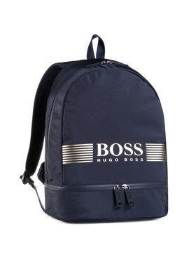 Boss Boss Batoh Pixel_Backp Pock 50413854 Tmavomodrá