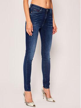 Tommy Jeans Tommy Jeans Skinny Fit Farmer Sylvia DW0DW08167 Sötétkék Skinny Fit
