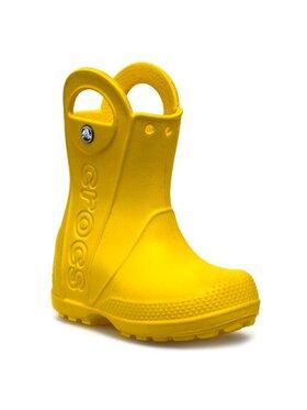 Crocs Crocs Guminiai batai Handle It Rain 12803 Geltona