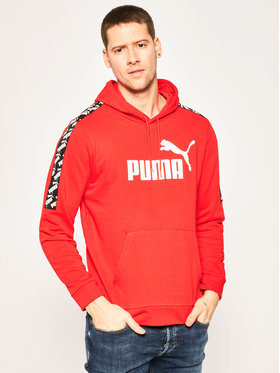 Puma Puma Mikina Amplified Hoody Tr 581393 Červená Regular Fit