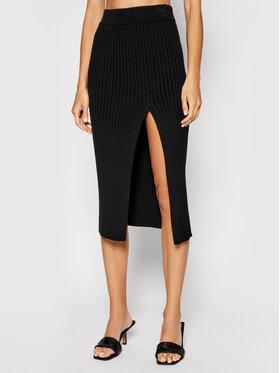 Kontatto Kontatto Puzdrová sukňa 3M7256 Čierna Slim Fit