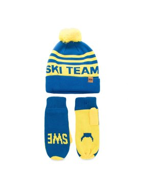 Helly Hansen Helly Hansen Set Mütze und Handschuhe Going For Gold Set 67098 Blau