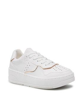 DeeZee DeeZee Sneakersy WS5509-01 Biela