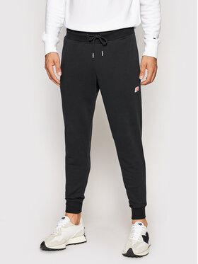 New Balance New Balance Παντελόνι φόρμας MP01664 Μαύρο Slim Fit