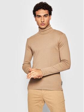 Marc O'Polo Marc O'Polo Bluză cu gât 129 2202 52354 Bej Slim Fit