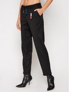 Tommy Jeans Tommy Jeans Текстилни панталони Tjw Solid DW0DW09143 Черен Regular Fit