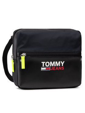 Tommy Jeans Tommy Jeans Ľadvinka Campus Twist Chest Bag AM0AM07151 Čierna