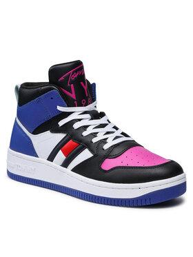 Tommy Jeans Tommy Jeans Sneakersy Mid Cut Bascet Sneaker EN0EN01506 Kolorowy