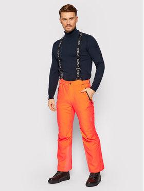 CMP CMP Lyžiarske nohavice 3W17397N Oranžová Regular Fit