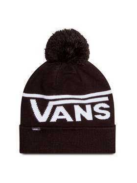 Vans Vans Шапка Stripe Pom Beanie VN0A4SFOY281 Черен