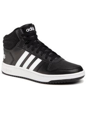 adidas adidas Pantofi Hoops 2.0 Mid BB7207 Negru
