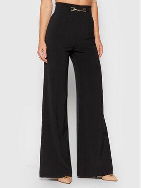Elisabetta Franchi Elisabetta Franchi Текстилни панталони PA-383-16E2-V240 Черен Relaxed Fit