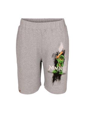 LEGO Wear LEGO Wear Pantaloncini di tessuto Ninjago 22555 912 Grigio Regular Fit
