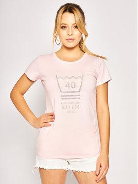 Liu Jo Liu Jo T-Shirt TA0112 J5003 Rosa Regular Fit