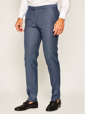 JOOP! Joop! Spodnie garniturowe 17 JT-02Blayr 30020473 Granatowy Slim Fit