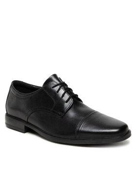 Clarks Clarks Κλειστά παπούτσια Howard Cap 261620127 Μαύρο