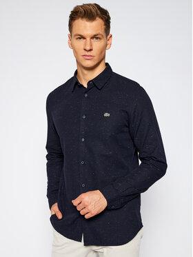 Lacoste Lacoste Koszula CH2985 Granatowy Slim Fit