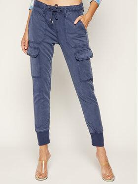Pepe Jeans Pepe Jeans Spodnie materiałowe Crusade PL211262 Niebieski Relaxed Fit