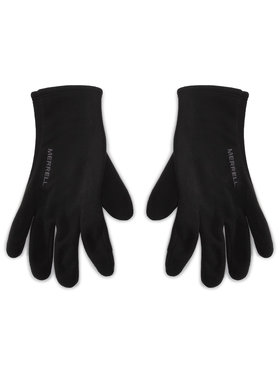 Merrell Merrell Мъжки ръкавици Goretex Fleece Glove GORE-TEX JAF25315 Черен