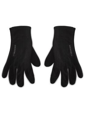 Merrell Merrell Pánske rukavice Goretex Fleece Glove GORE-TEX JAF25315 Čierna