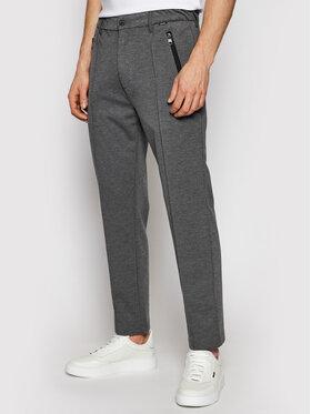 Calvin Klein Calvin Klein Medžiaginės kelnės K10K106550 Pilka Tapered Fit