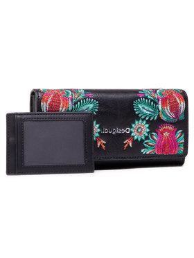 Desigual Desigual Veľká dámska peňaženka 21SAYP06 Čierna