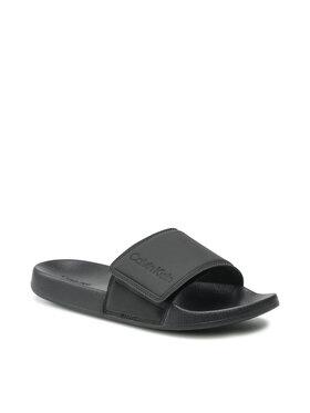 Calvin Klein Jeans Calvin Klein Jeans Papucs Adj Slide Pu HM0HM00273 Fekete