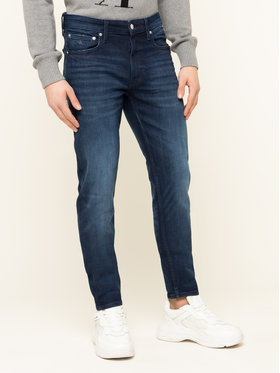 Calvin Klein Jeans Calvin Klein Jeans Jeansy Tapered Fit J30J313941 Granatowy Tapered Fit