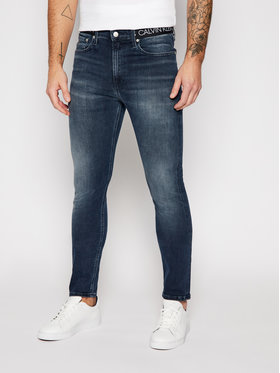 Calvin Klein Jeans Calvin Klein Jeans Jean Skinny Fit J30J316101 Bleu marine Skinny Fit