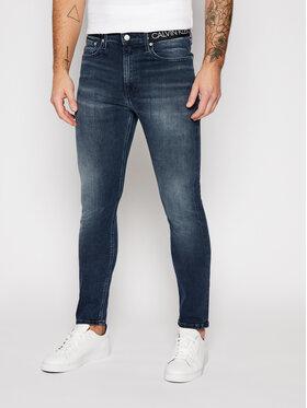 Calvin Klein Jeans Calvin Klein Jeans Skinny Fit Jeans J30J316101 Dunkelblau Skinny Fit