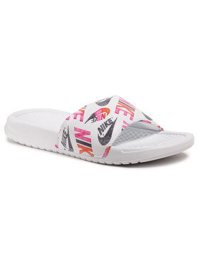 Nike Nike Șlapi Benassi Jdi Print 618919 119 Alb