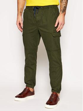 Tommy Jeans Tommy Jeans Joggers kalhoty Cargo DM0DM10511 Zelená Regular Fit