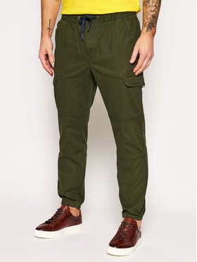 Tommy Jeans Tommy Jeans Joggery Cargo DM0DM10511 Zielony Regular Fit